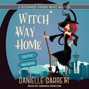 Witch Way Home audiobook cover art