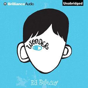 Wonder audiobook cover art