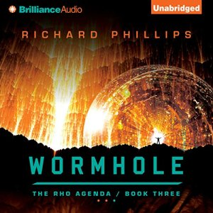 Wormhole audiobook cover art