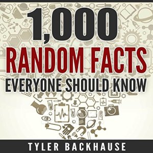 1,000 Random Facts Everyone Should Know audiobook cover art