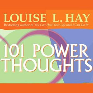 101 Power Thoughts audiobook cover art