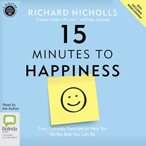 15 Minutes to Happiness audiobook cover art