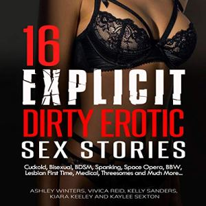 16 Explicit Dirty Erotic Sex Stories audiobook cover art