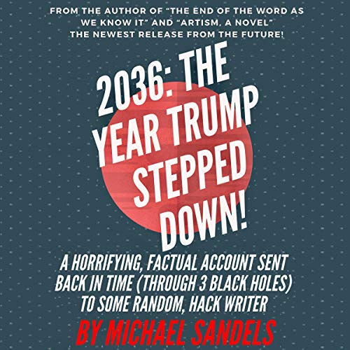 2036: The Year Trump Stepped Down! audiobook cover art