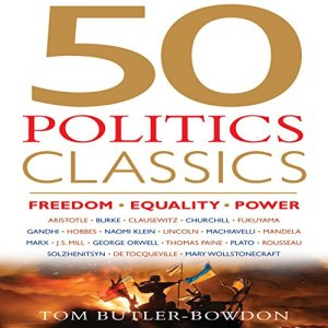 50 Politics Classics audiobook cover art