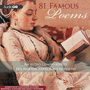 81 Famous Poems audiobook cover art