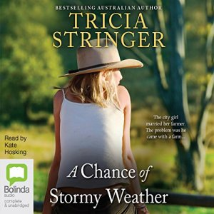 A Chance of Stormy Weather audiobook cover art