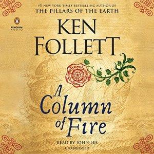 A Column of Fire audiobook cover art