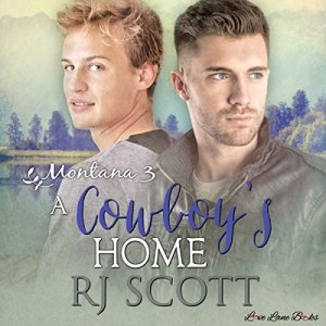 A Cowboy's Home audiobook cover art