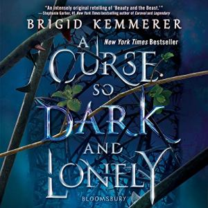 A Curse So Dark and Lonely audiobook cover art