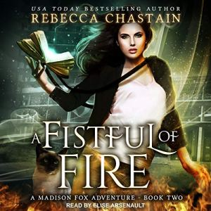 A Fistful of Fire audiobook cover art