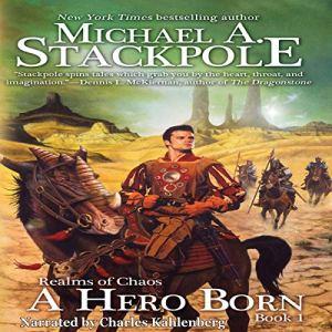 A Hero Born audiobook cover art