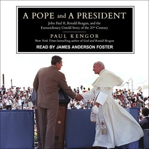 A Pope and a President audiobook cover art