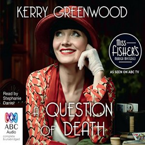A Question of Death audiobook cover art