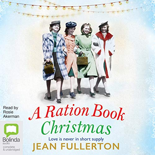 A Ration Book Christmas audiobook cover art