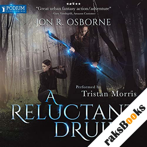 A Reluctant Druid audiobook cover art