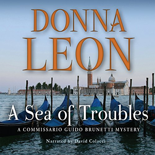 A Sea of Troubles audiobook cover art
