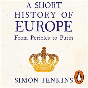A Short History of Europe audiobook cover art