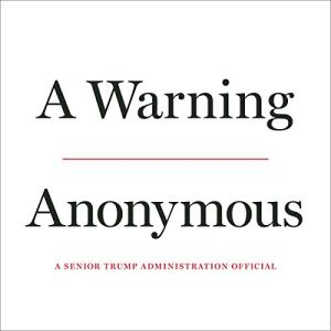 A Warning audiobook cover art