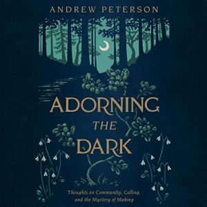 Adorning the Dark audiobook cover art