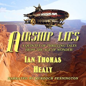 Airship Lies audiobook cover art