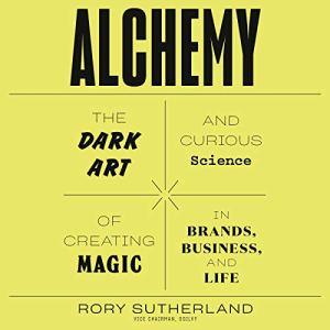 Alchemy audiobook cover art