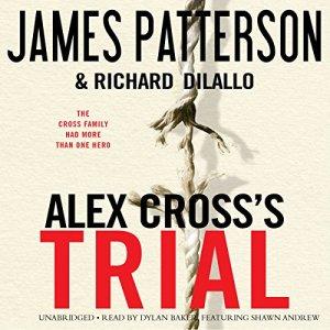 Alex Cross's TRIAL audiobook cover art