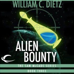 Alien Bounty audiobook cover art