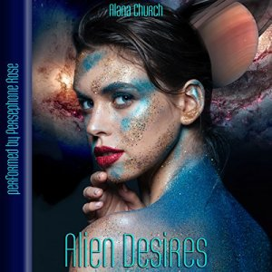 Alien Desires audiobook cover art