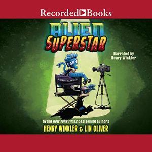 Alien Superstar audiobook cover art