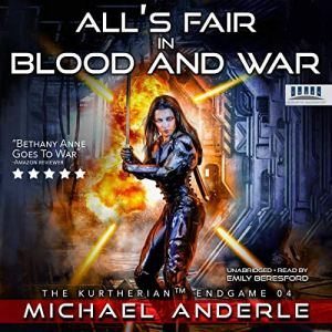 All's Fair in Blood and War audiobook cover art