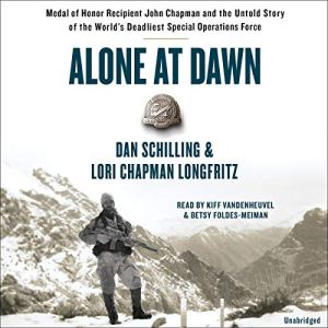 Alone at Dawn audiobook cover art
