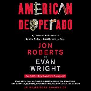 American Desperado audiobook cover art
