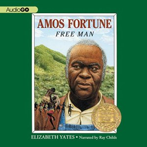 Amos Fortune audiobook cover art