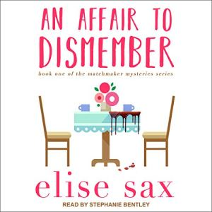 An Affair to Dismember audiobook cover art