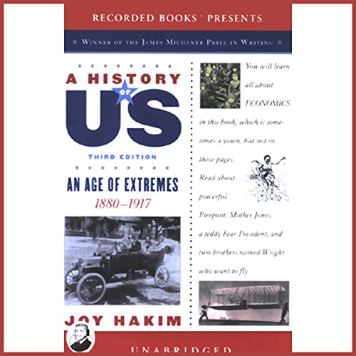 An Age of Extremes, 1880-1917, A History of US, Book 8 audiobook cover art