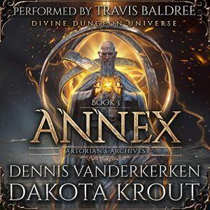 Annex (A Divine Dungeon Series) audiobook cover art