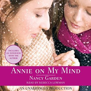 Annie On My Mind audiobook cover art