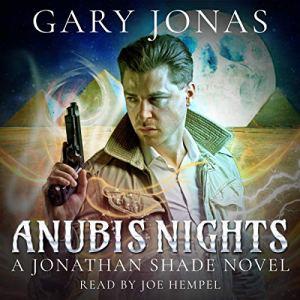 Anubis Nights audiobook cover art