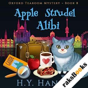 Apple Strudel Alibi audiobook cover art
