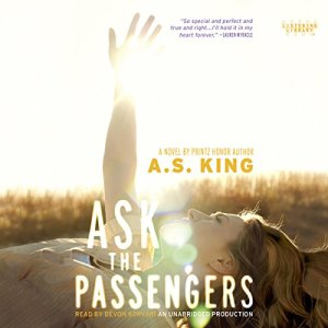 Ask the Passengers audiobook cover art