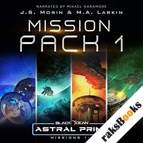 Astral Prime Mission Pack 1: Missions 1-4 audiobook cover art