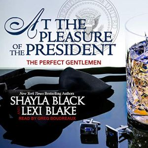 At the Pleasure of the President audiobook cover art
