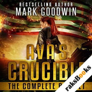 Ava's Crucible audiobook cover art