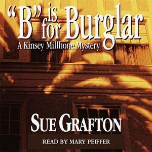 B Is for Burglar audiobook cover art