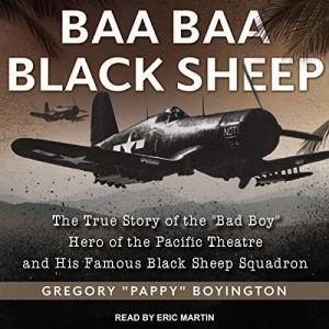 Baa Baa Black Sheep audiobook cover art