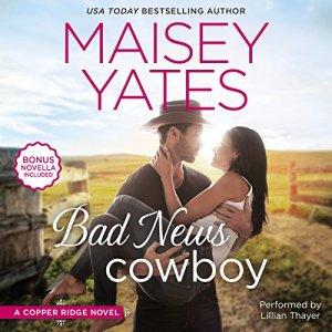 Bad News Cowboy audiobook cover art