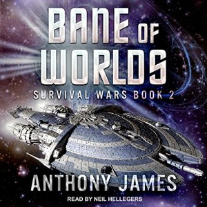 Bane of Worlds audiobook cover art