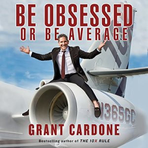 Be Obsessed or Be Average audiobook cover art
