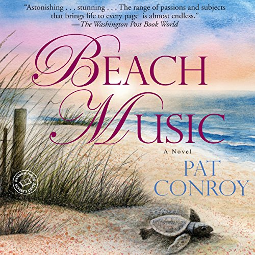 Beach Music audiobook cover art